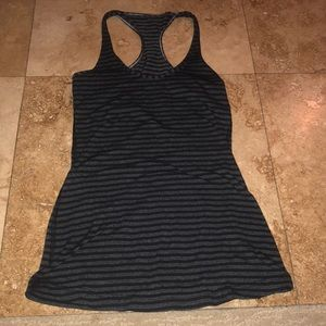 Lululemon stripe cool racerback